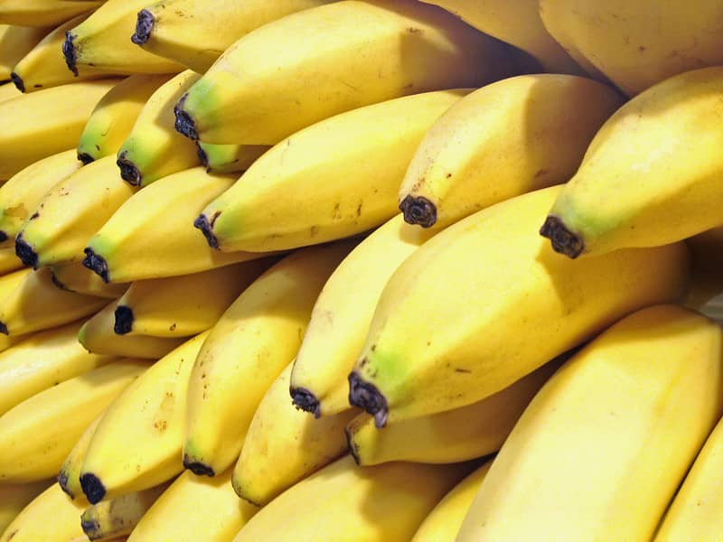 Bananas: Top kickboxing food to eat in the morning before kickboxing