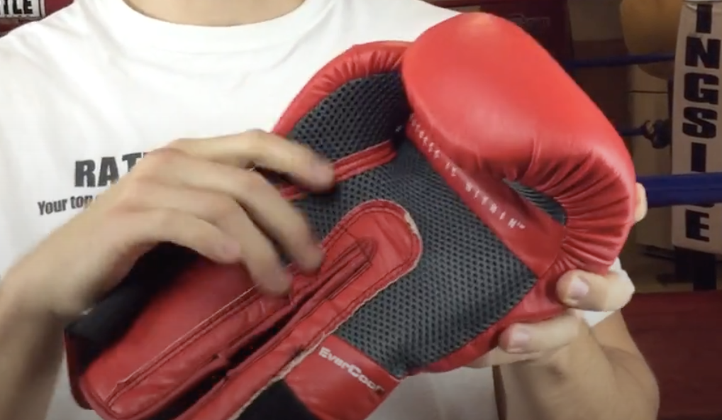 red everlast elite protex 2 training gloves review of mesh