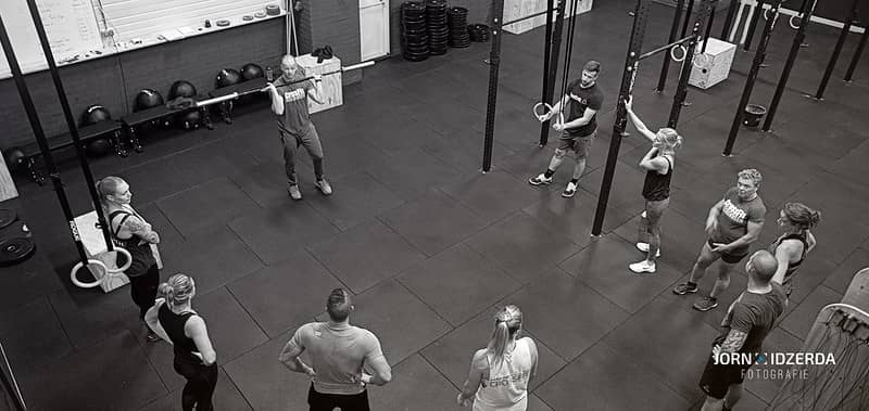 Crossfit class - Crossfit or kickboxing